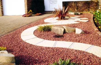 1000 images about xeriscaping on pinterest for Red stone landscape rock